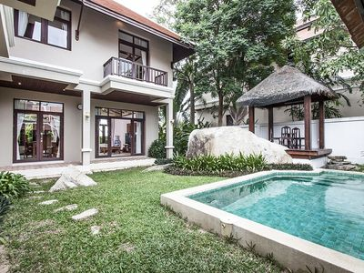 Photo for House 514 m from the center of Ko Samui with Air conditioning, Parking, Balcony, Washing machine (555222)