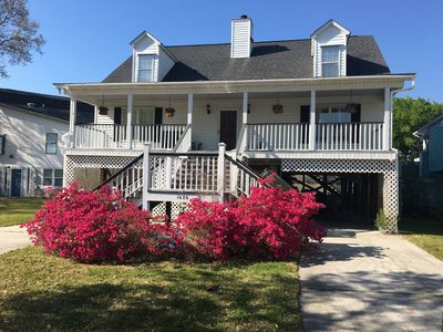 Beautiful Waterfront Plantation House near the beach!