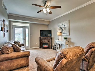 Photo for NEW! Sevierville Resort Condo w/ Balcony+Fireplace