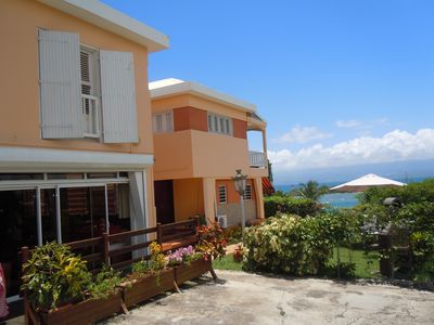 Photo for Apartment charming and friendly the throat with sea views