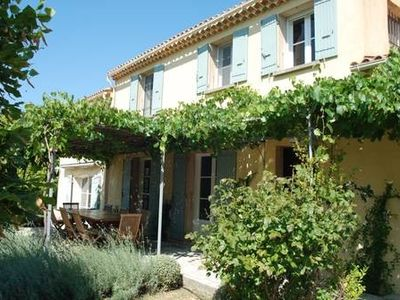 Photo for A truly beautiful, secluded Provencal house with pool surrounded by vineyards