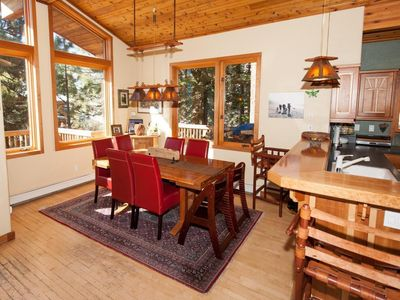 Photo for Alpine Meadows Panoramic View 4 Bedroom 4 Bath Minutes from Skiing 3000 Sq Ft
