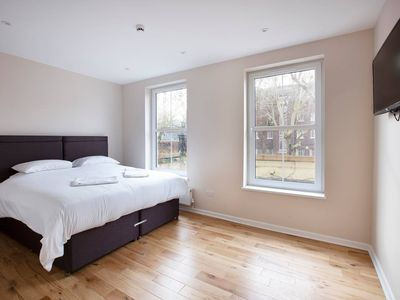 Photo for Super King Size Bedroom one stop from Clapham Station