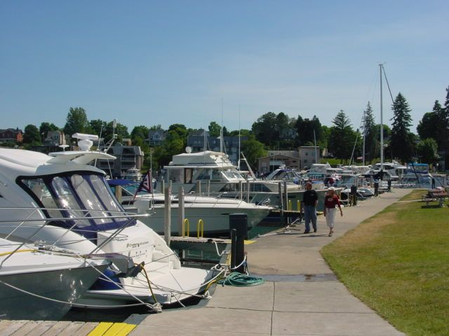 Charlevoix, Michigan,  Home Two Blocks from Beach