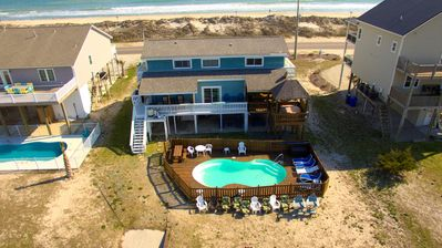 Photo for Canalfront & Unobstructed Ocean, Pet Friendly, Pool, Dock, tiki bar, boat ramp