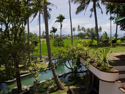 Photo for LUXURY VILLA 5 PAX BY CANDI DASA, 20 MTR POOL, ENDLESS RICEFIELD/OCEAN VIEWS