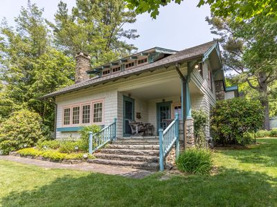 Photo for The Suddreth Cottage - Walk to Main Street Blowing Rock - Private Garden with Gazebo