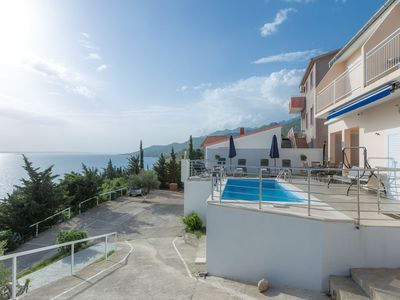 Photo for Luxury Apartmentwith Private Pool by the Beach in Starigrad