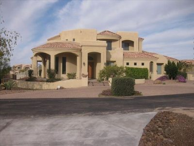Photo for Living Large in Mesa - Large Pool, Sports Court, Putting Green