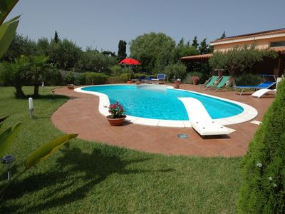 Photo for Villa Paladino in western Sicily, in the countryside, with 4 bedrooms, it can accommodate up to 8 gu