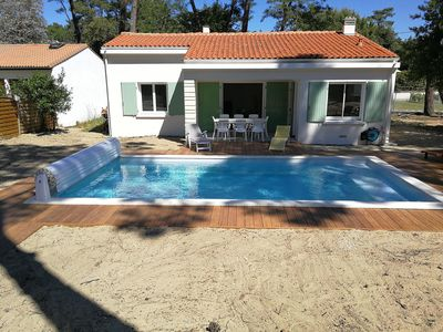 Photo for rental detached house heated pool and WIFI
