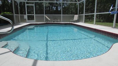 secluded pool Not overlooked