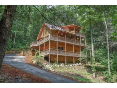 Photo for 4BR/3BA Private Cabin With Trail Access To Fightingtown Creek, (A Trophy Trout Stream), Sleeps 12, W