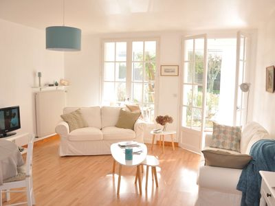 Photo for House renovated sea view with WIFI, near beach commerces-