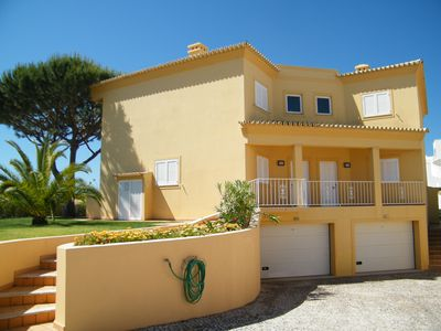 Photo for V6 villa next to the beach with pool, wifi, perfect for holidays without car