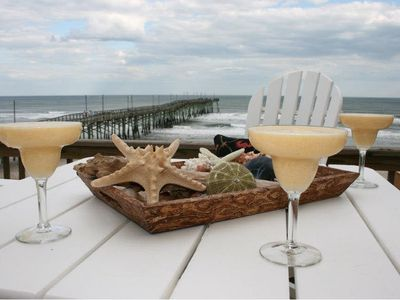 Photo for JOLLY DAVE'S: 4 BR / 3 BA oceanfront in Topsail Beach, Sleeps 12