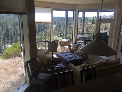 Photo for Mt Bachelor Village RIVER RIDGE VIEW private Hot Tub & Garage Near Mt and Bend