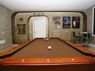 Photo for AUG OFFERS: EUREKA! 2 En-suite Masters, Games rm, Pool/Spa < 10 mins to Disney