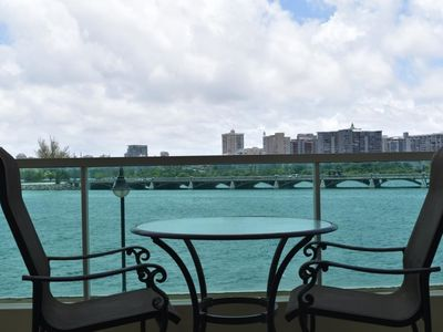 Photo for Parlor w Lagoon view 2 guests (B17)