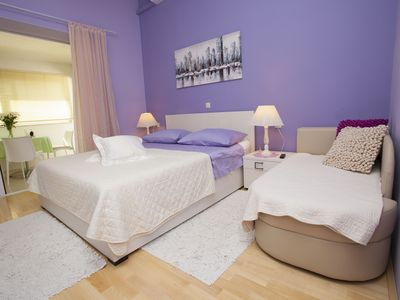 Photo for Holiday apartment Makarska for 1 - 3 persons - Holiday apartment