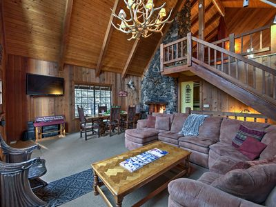 Photo for Secluded Lake Arrowhead Cedar Chalet, Mins to Lake