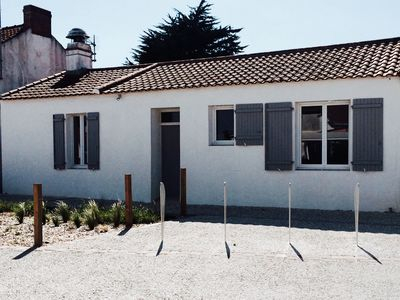 Photo for Ile de Noirmoutier, typical house 250m from the beach and shops