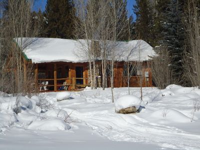 Photo for Lakefront Cabin Near The Grand Tetons, Jackson Hole, Yellowstone