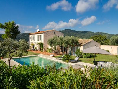 Photo for Magnificent Villa with exceptional view of the Gulf of Saint-Tropez
