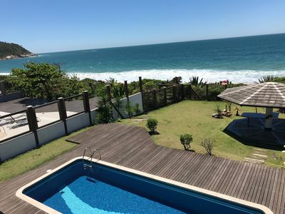 Photo for Masonry House Waterfront with Highest Standard in Estaleirinho Beach!