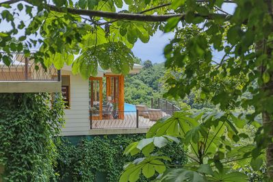 Perched high in the jungle, find Shangri La, Manuel Antonio's newest luxury home