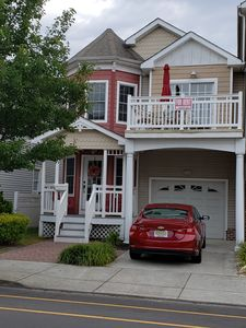 Photo for Modern Spacious Wildwood Vacation Townhome for Rent, 2 Blocks from Beach/Boards