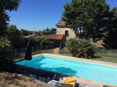 Photo for Beautiful Pigeonnier, nicely restaured, with private pool