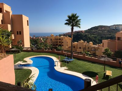 Photo for Spacious and Modern 2 Bedroom Apartment with Great Sea Views and a Large Terrace