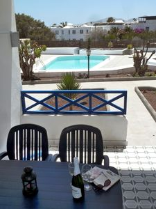 Photo for 2 bedroomed refurbished apartment, quiet, central complex, free wifi & UK TV