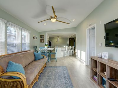 JUNE AVAILABLE! BOOK NOW. Beautiful pier home with golf cart.