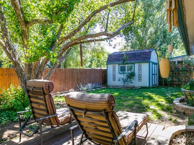 Photo for Relaxing  Mountain View  Getaway | Charming Backyard ❣ Patio | Hwy 89
