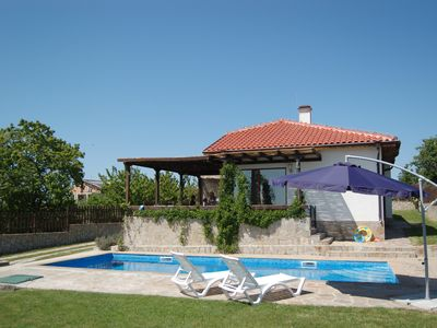 Photo for 3 Bed Detached Villa with Private Pool. WIFI in village near to Varna