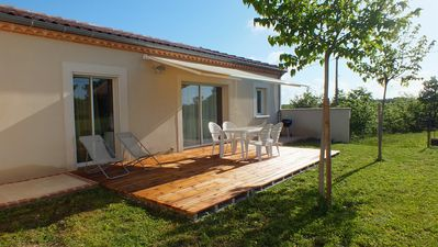Photo for A small 55 m² house sleeping 4 people in the countryside