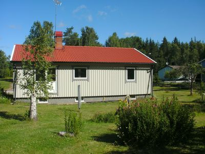Photo for Newly renovated cottage in a quiet location on the edge of the forest