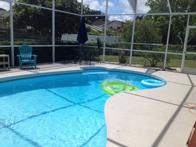 Photo for HEATED POOL GORGEOUS ANNA MARIA ISLE BEACHES FULLY STOCKED 3 BED/2BA FREE WIFI