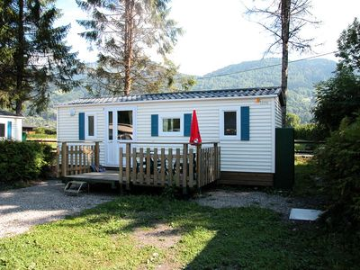 Photo for Mobilhome 5 pers. 200m from the ski lifts - Mobile Home 3 Rooms 5 persons