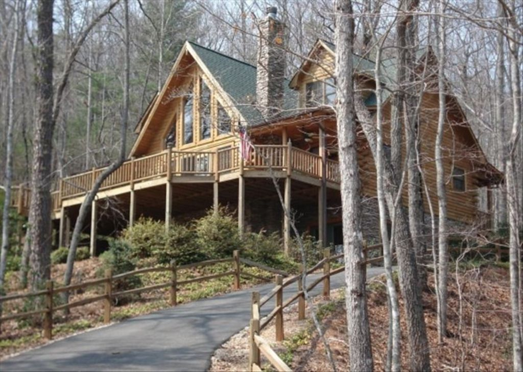 Extraordinary view beautiful cabin hot tub hiking near for Cabin rentals near hiking trails
