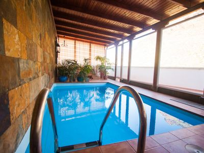 Photo for Fantastic house with indoor swimming pool with views to Tenerife + wifi