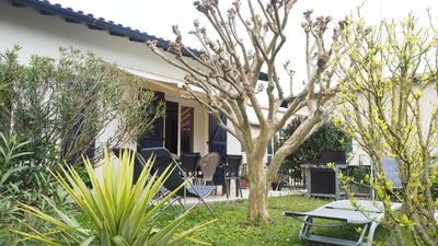Photo for Nice house with garden, quiet, shops and services at 500m, beach at 1km