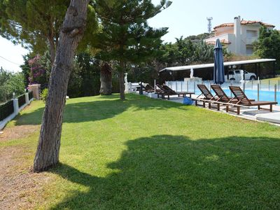 Photo for Family-friendly Villa with big private pool near picturesque beaches
