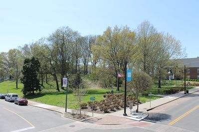 Park adjacent to the Kage House