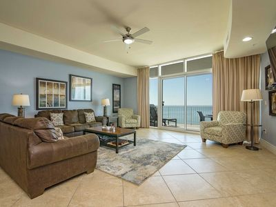 Photo for Low Floor ~ Hot Tub/Grill on the Balcony ~ Lazy River ~ Great Amenities ~ Turquoise Place 705d