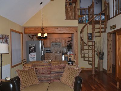 "Photo for ""Outer Limits Loft"" Snowfire Condo. Sleeps 6-8 With Loft. Updated Near Slopes!"