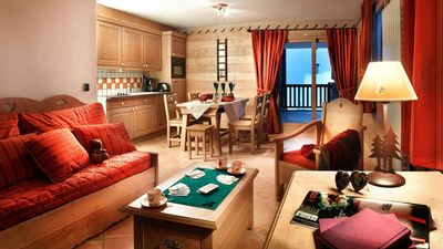 Photo for Surface area : about 65-75 m². Living room with 2 sofa-beds. Bedroom with double bed