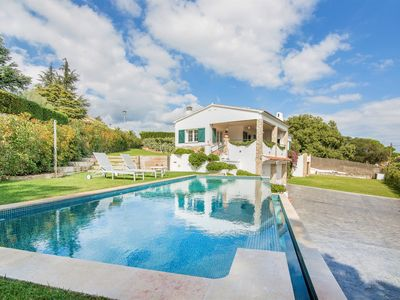 Photo for Casa Mallorca with private saltwater swimming pool and close to the beach